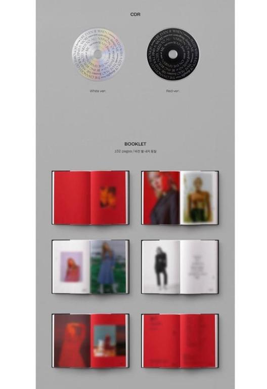 [Pre-order] TAEYEON 태연 (2ND REGULAR ALBUM 2집) - PURPOSE (WHITE ver. || RED ver.)