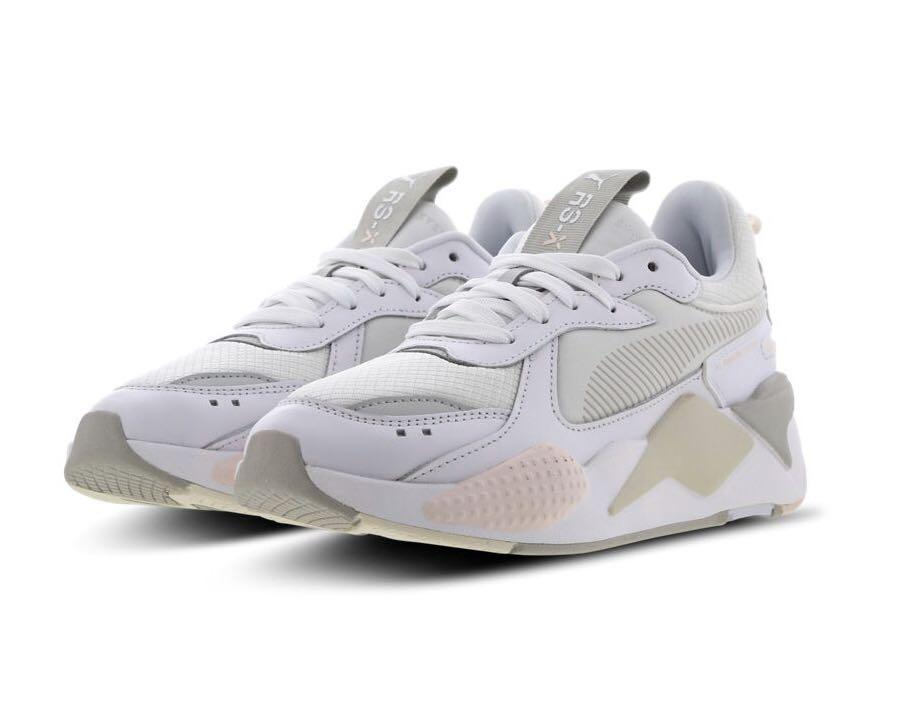 PUMA RX-S Gleam white pink white, Men's Fashion, Footwear ...