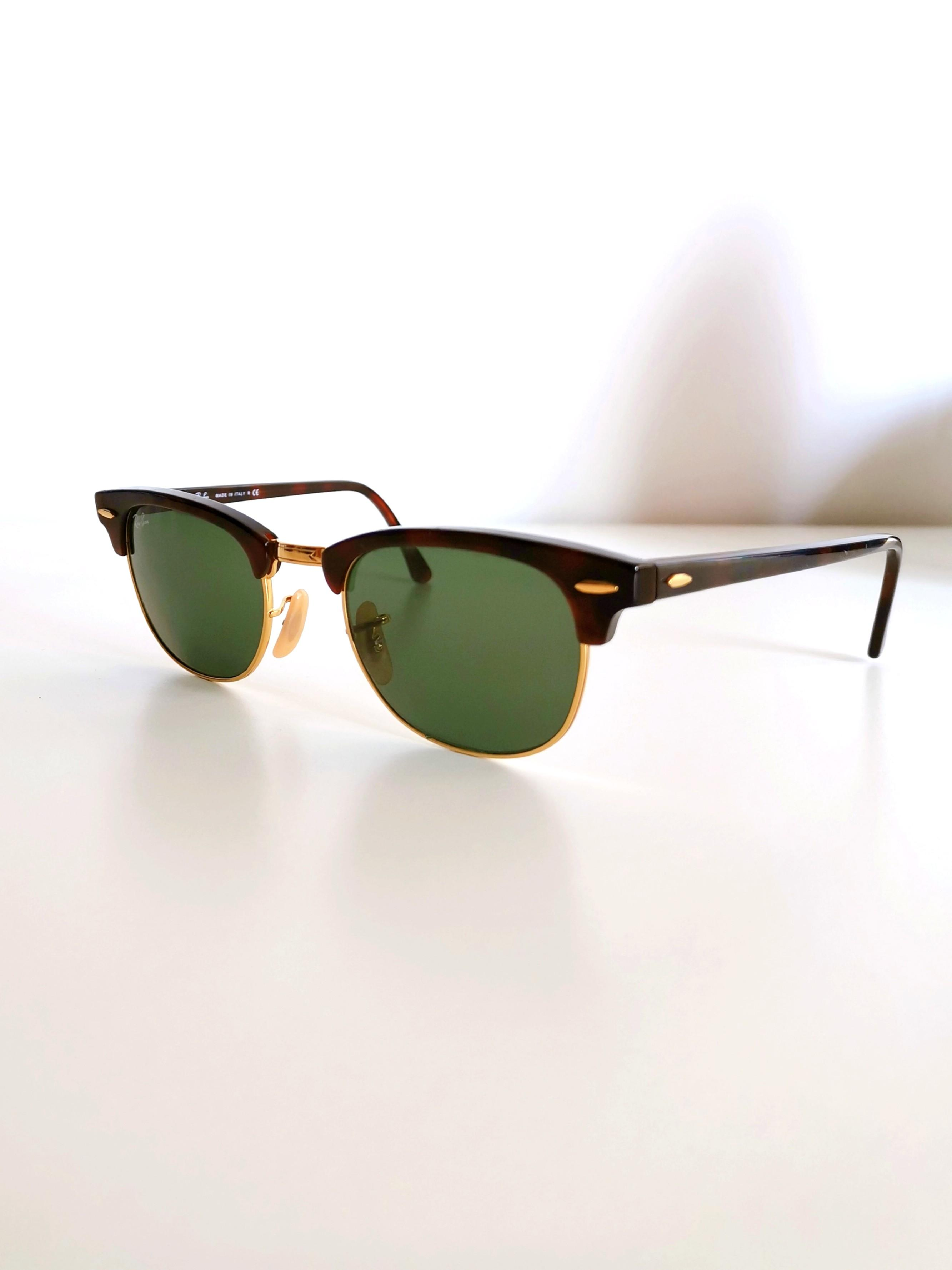 Ray-Ban Tortoise Shell Sunglasses, Clubmaster Classic