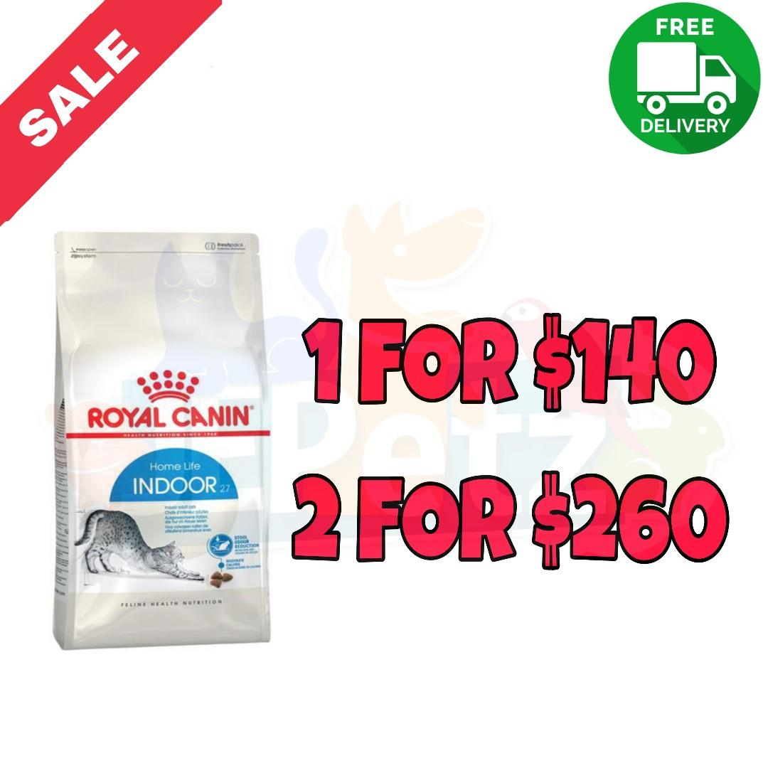 *SALE* Royal Canin Feline Indoor 27 Cat Dry Food (10KG)