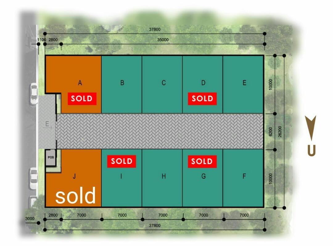 Townhouse baru strategis di Cirendeu Jakarta Selatan hanya 4,7 km dari Stasiun MRT Lebak Bulus