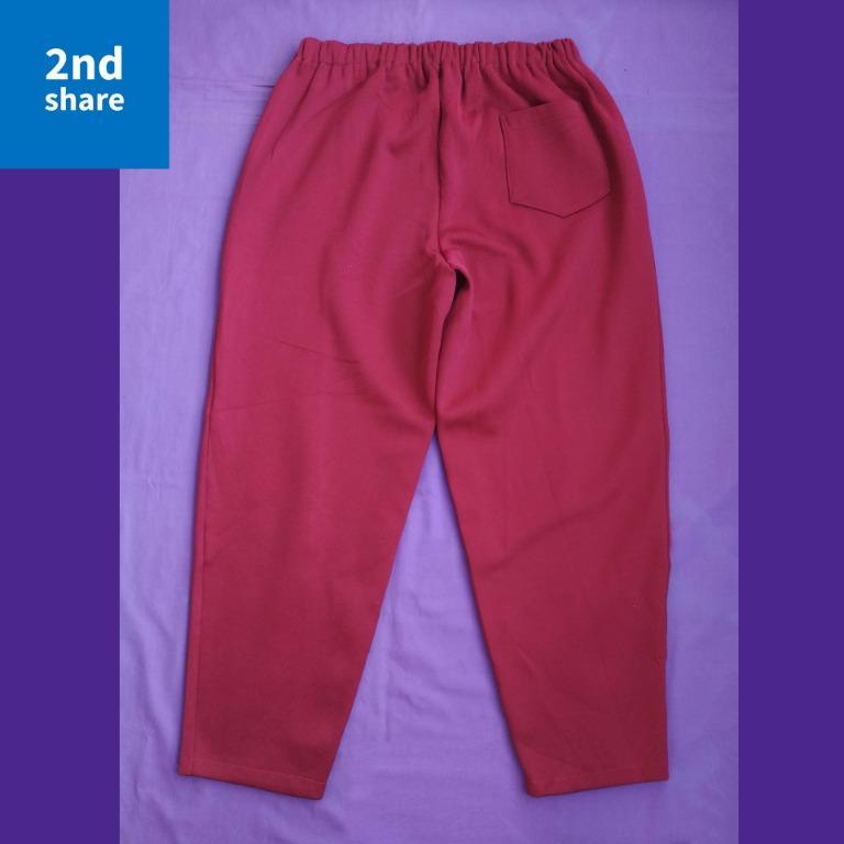 Trackpants noMERK Marun 87x68