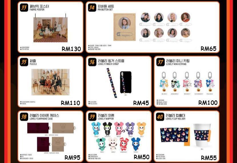 TWICE FANMEETING ONCE HALLOWEEN 2 OFFICIAL MERCHANDISE