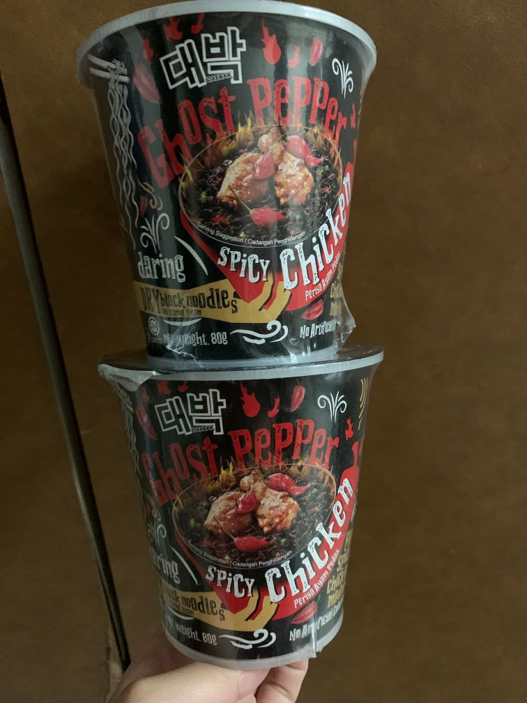 Two Spicy Chicken Ghost Pepper Madness