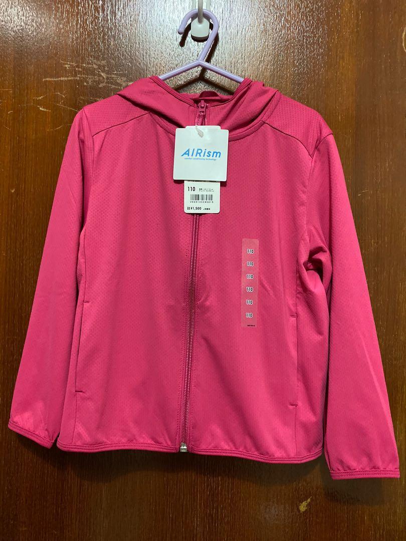 全新Uniqlo airism 外套,110 碼,購自日本