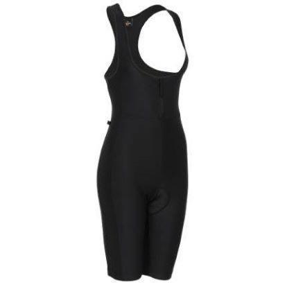 Wiggle Essentials Women's Cycle Padded Bib Short Black UK 8