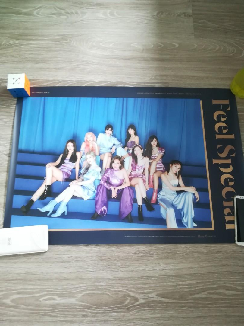 WTS TWICE FEEL SPECIAL ALBUM, CD, LYRICS BOOK, POSTER, FANCY CD