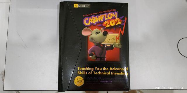 NEW! CASHFLOW 202 Board Game by Robert Kiyosaki