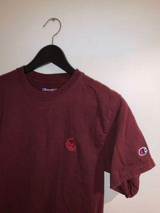 Champion/Earl sweatshirt collar T-shirt
