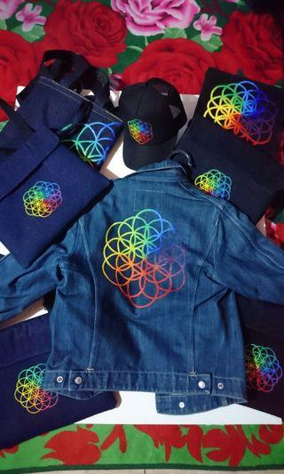 Jaket Jeans Coldplay