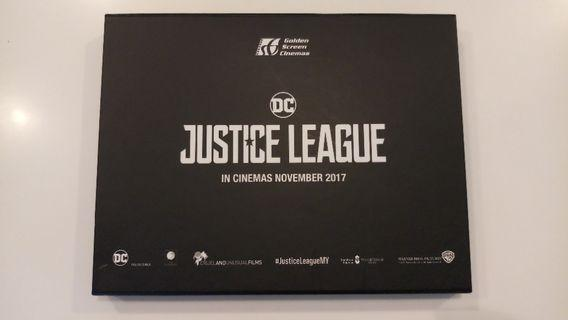 Justice League Collectible Metal Icon Set (by GSC Cinemas)