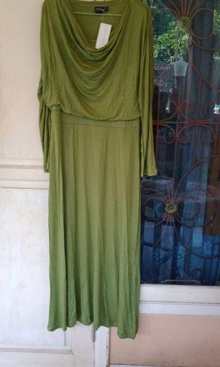 Green Dress baru kaos M Sophie Martin
