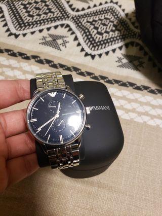 emporio armani authentic watch