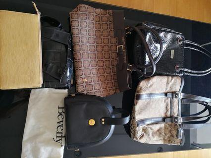 Handbags Coach Burberry
