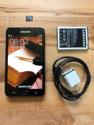 [售]SAMSUNG NOTE 1 16GB [價格]1500 [物品狀況]2手     [交易方式]面交自取 7-11取貨付款 [交易地點]台南市東區     [備註]無盒裝/旅充/電池×2/記憶卡2GB