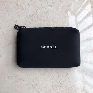 Ready stock: unisex OriginalChanel complimentary clutch pouch