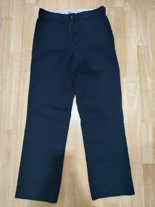 Dickies Regular Fit Black Pants (included Postage)