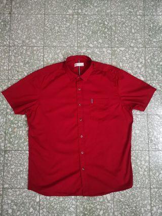 PDI red short sleeve short