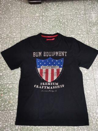 Bum equipment tshirt