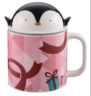 星巴克 企鵝禮物馬克杯組