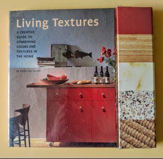 生活紋理創意指南  Living Textures(在家裡組合顏色和紋理的創意指南)書內頁旁附600個紋理色板可翻轉活頁簿