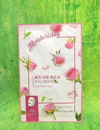 #mauovo Miniso Rose Sheet Mask