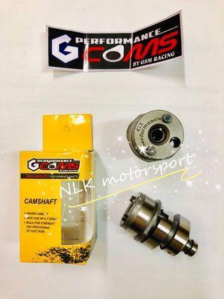 GCOMS camshaft G1/G2