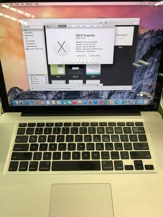 Macbook Pro i7 15inch