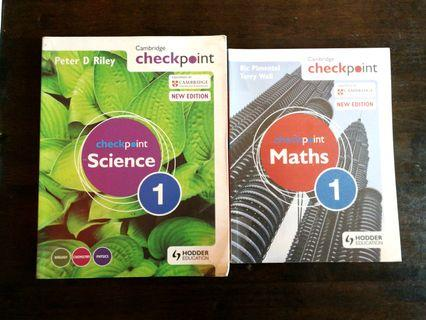 Cambridge Checkpoint Maths & Science 1