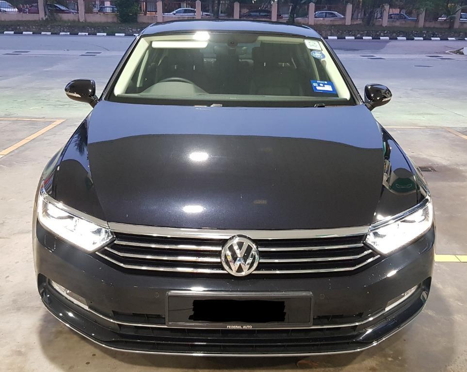 2018 Volkswagen Passat 1.8 280 TSI Comfortline Sedan