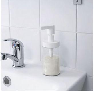 IKEA 按壓洗手乳瓶 250mlX2