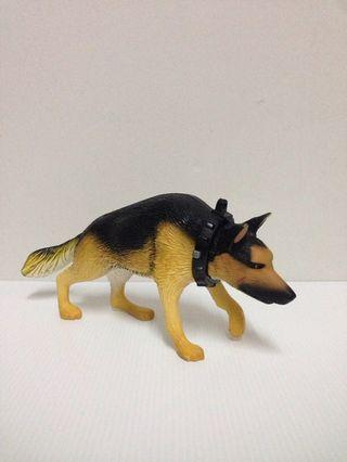 Vintage Action Man Sniffer / Attack Dog Toy Figure