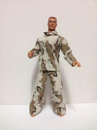 Vintage Soldier Toy Action Figure