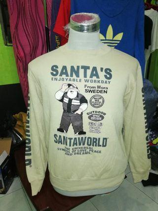 Santa Claus long sleeve vintage