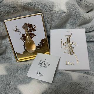 迪奧Jadore香水 精巧版5ml 買其他產品送的 全新