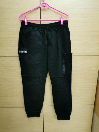 黑色褲子34--36腰