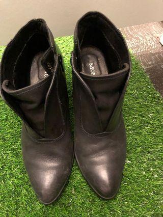 Moma踝靴