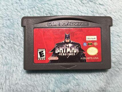 Batman Vengence Gameboy Advance