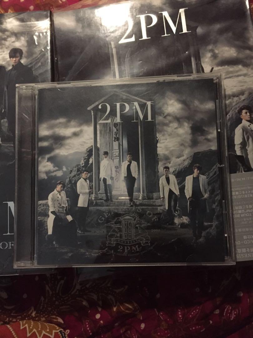 2PM-GENESIS OF 2PM (TYPE-A+ B) JAPAN CD+DVD+BOOK Ltd/Ed L45
