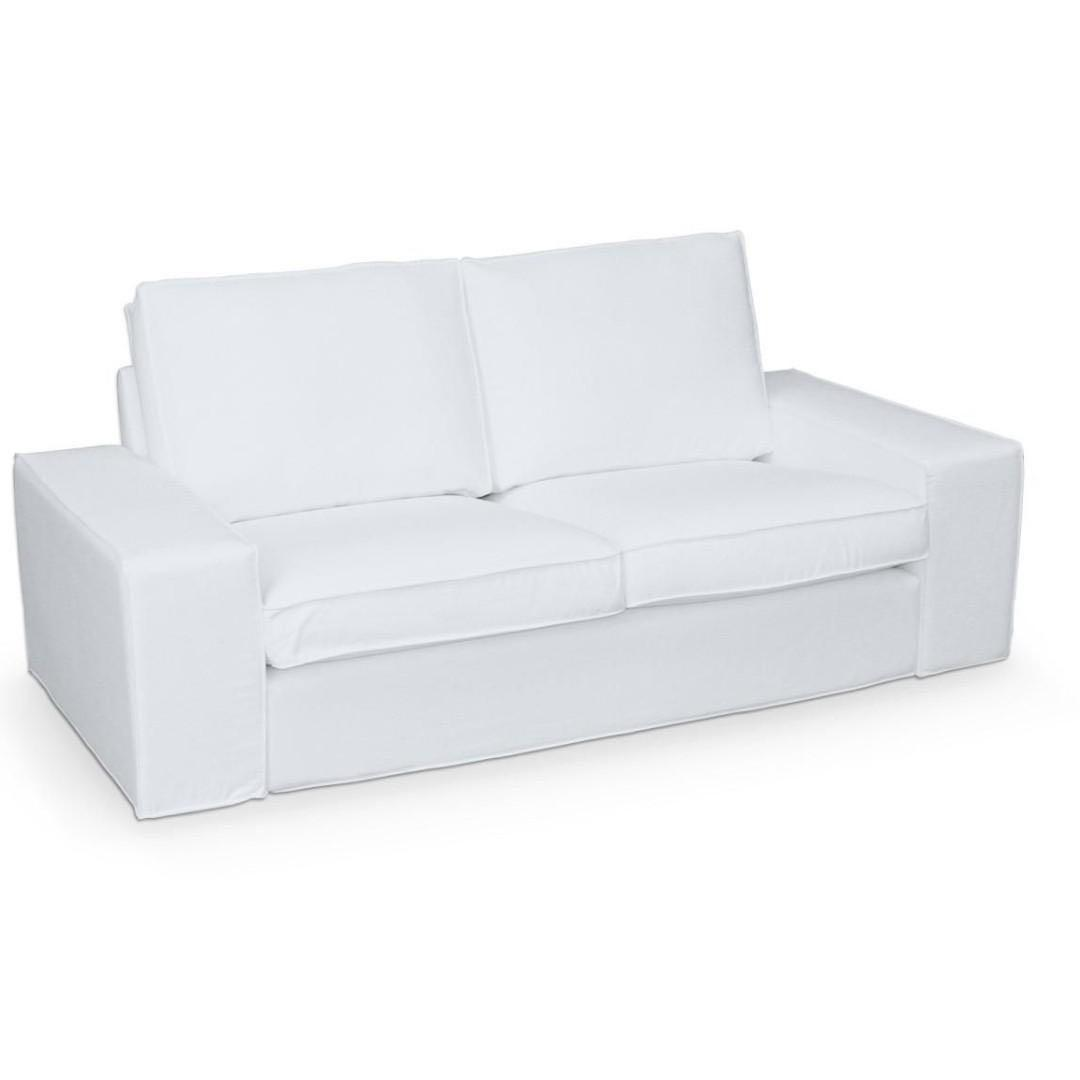 2seater Sofa - white Fabric KIVIK with FREE extra cover