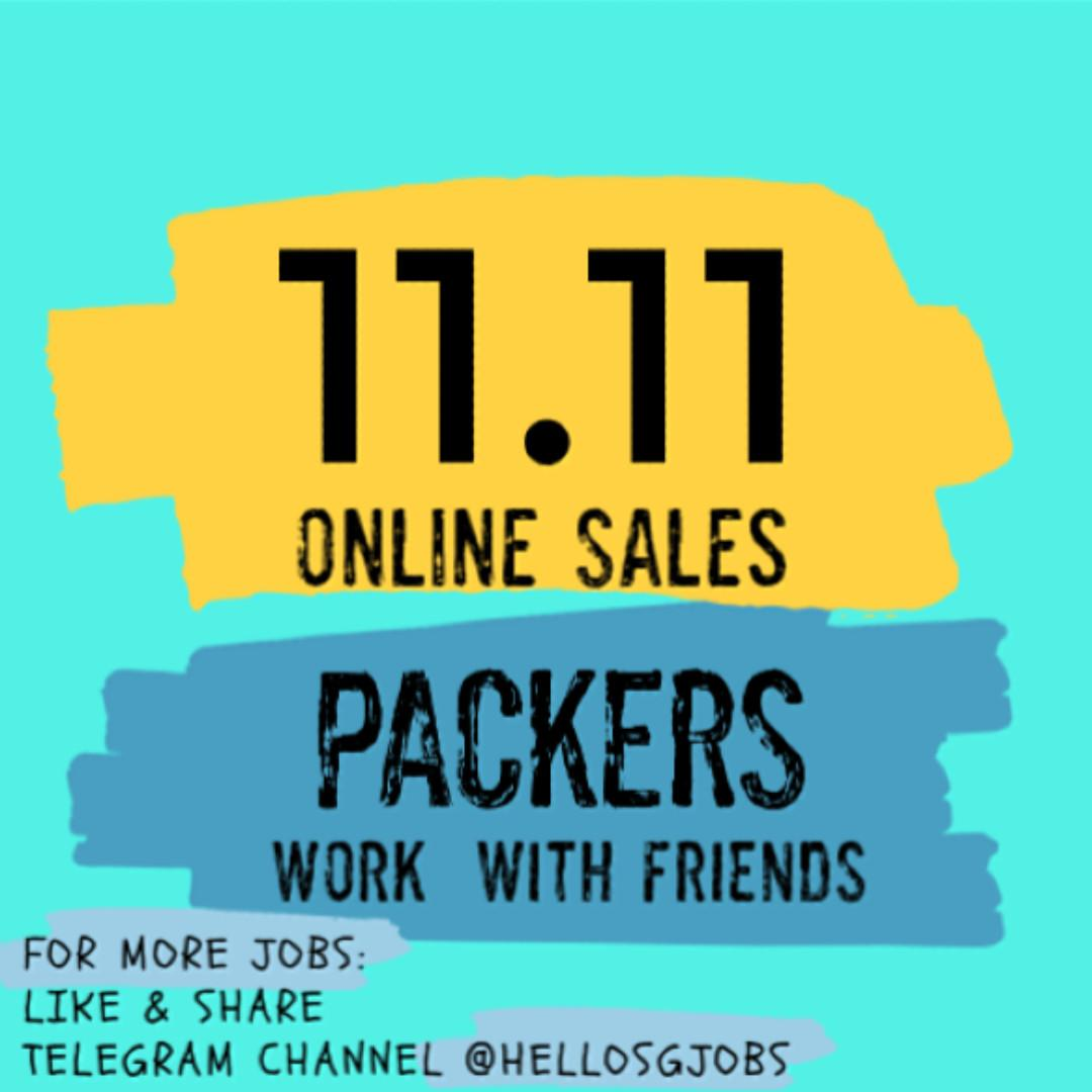 ⚡️ 100 x Event Packers for 11.11 Crazy Sales ⚡️ JOIN NOW