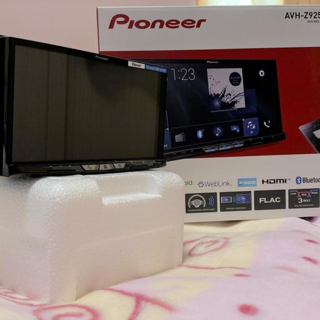 現貨 先鋒 9250 Pioneer AVH-Z9250BT 蘋果 無線 Carplay 雙USB 2DIN 主機