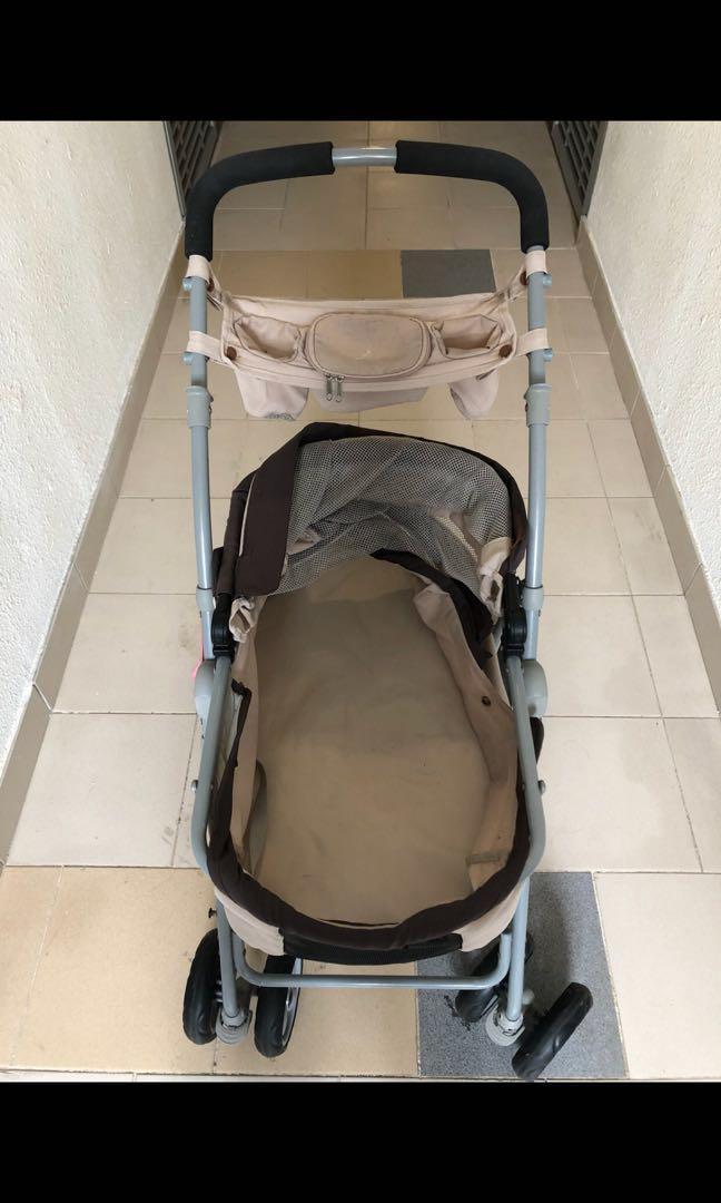 寵物 BB車 輕便自立式四輪 手推車 Pets dogs cats buggy pushchair stroller