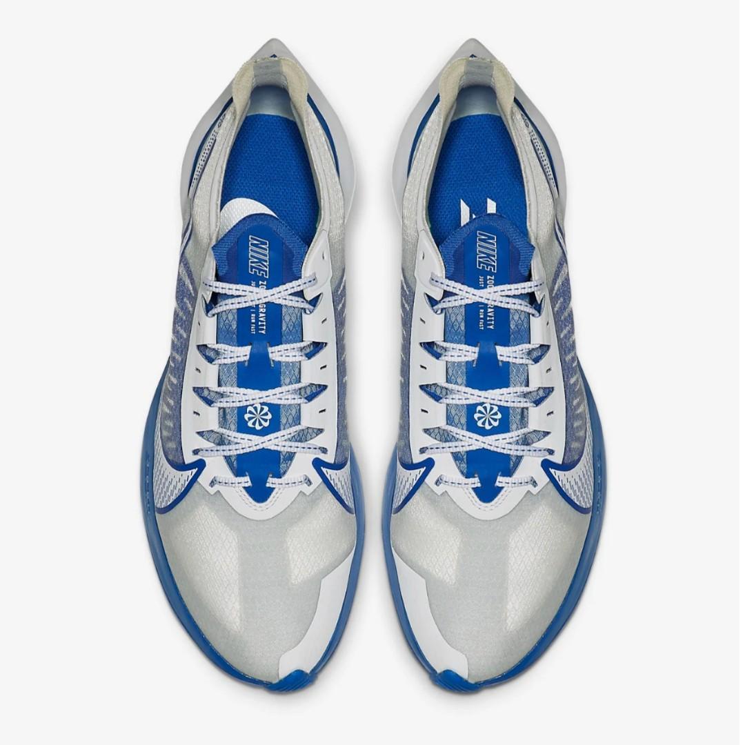 (限時優惠) 🔥Nike Zoom Gravity Racer Blue 跑鞋 - Men🔥▶️ $619 . Size: 25-28cm