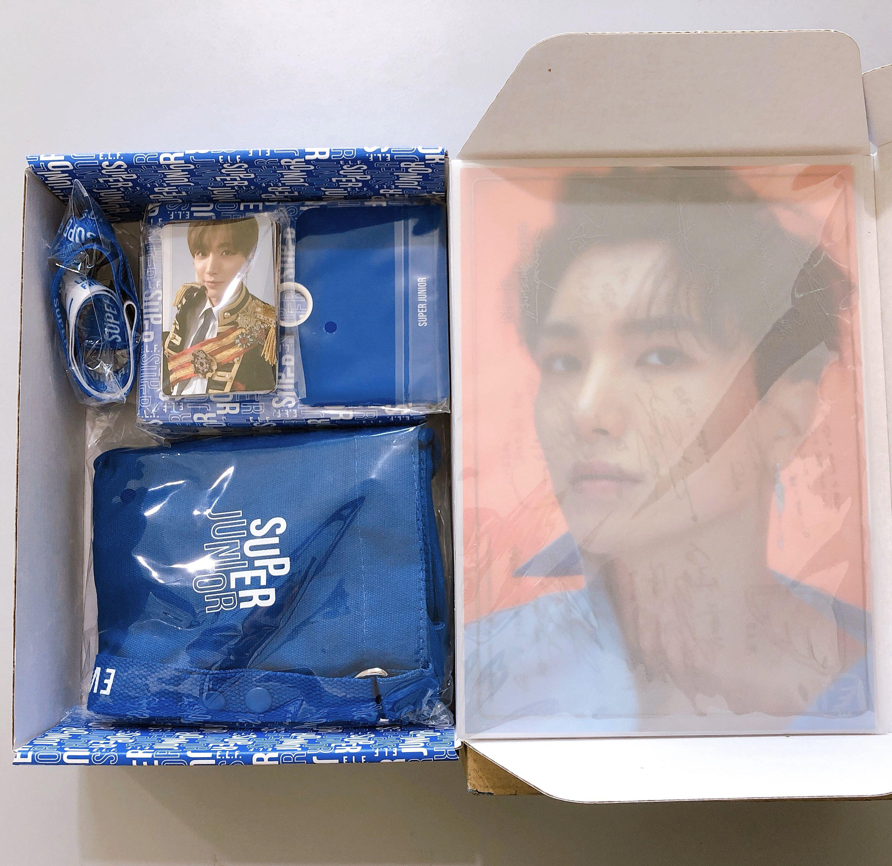 ⭐️ WTS ⭐️ SUPER JUNIOR OFFICIAL FANCLUB  ACE MEMBERSHIP [ WELCOME KIT ]