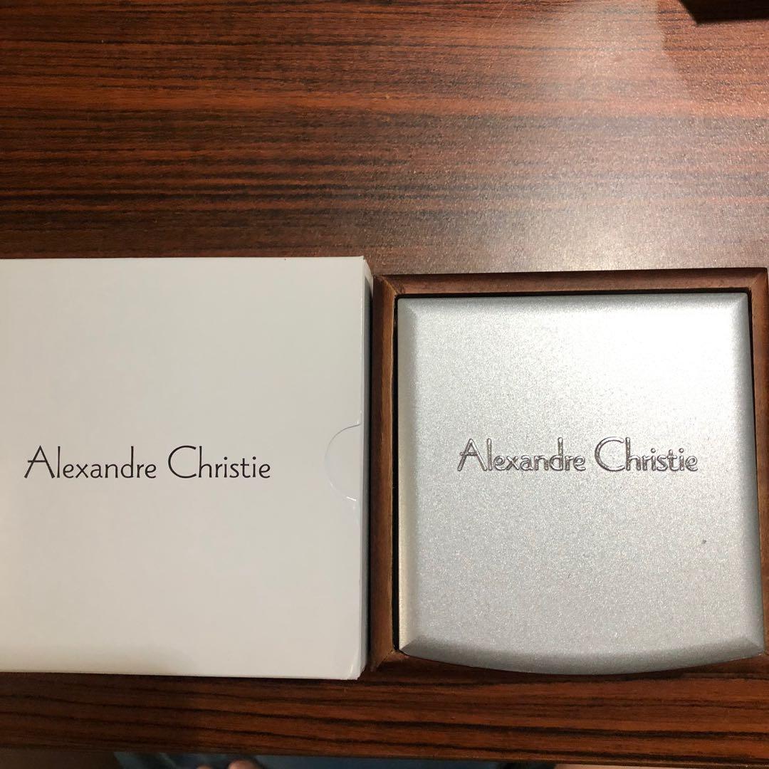 Alexandre Christie watch classic steel black