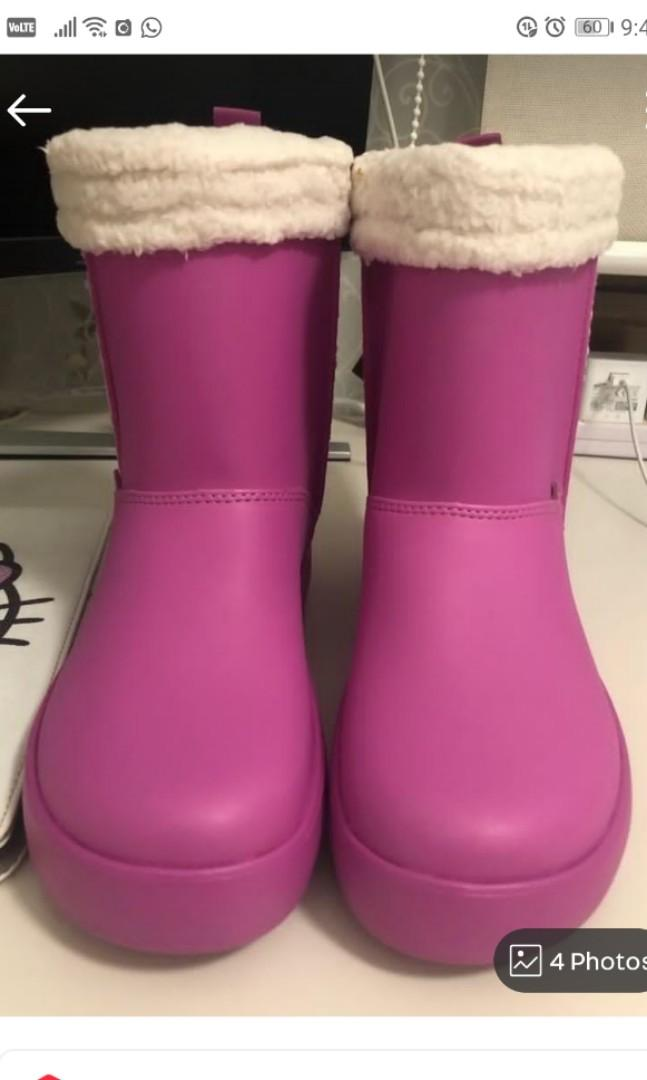 BNWT Authentic Crocs Kids Winter Boots