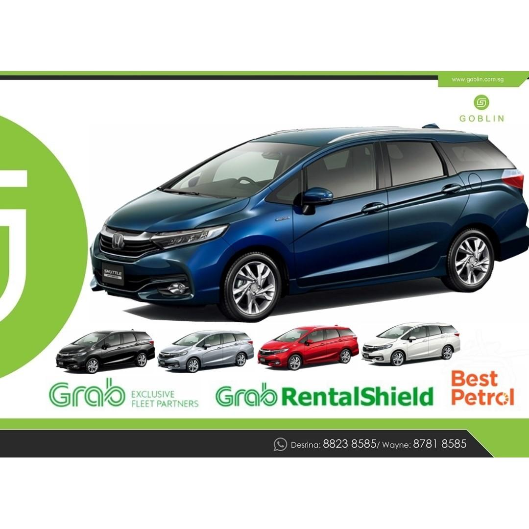 Brand New Toyota and Honda Hybrid with Fit Grace Shuttle Prius Sienta Freed Noah Voxy