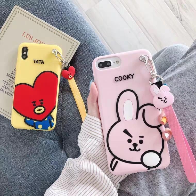 Bt21 iphone case tata cooky koya taehyung jungkook namjoon bts unofficial