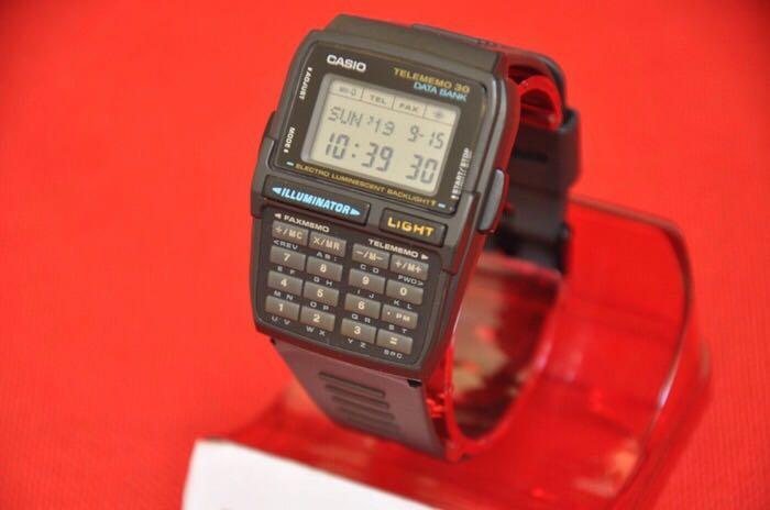 Casio DBC-30 Calculator Databank Original Vintage Rare
